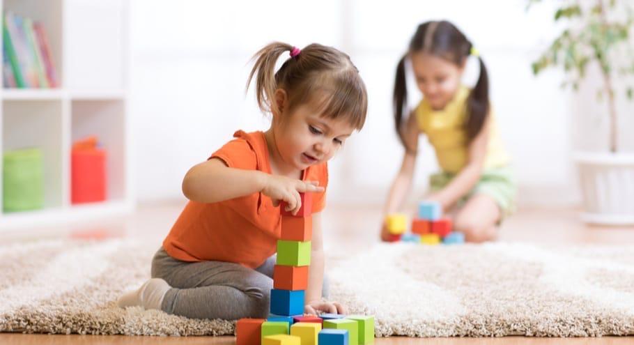 Занятие с детьми в 2-3 года